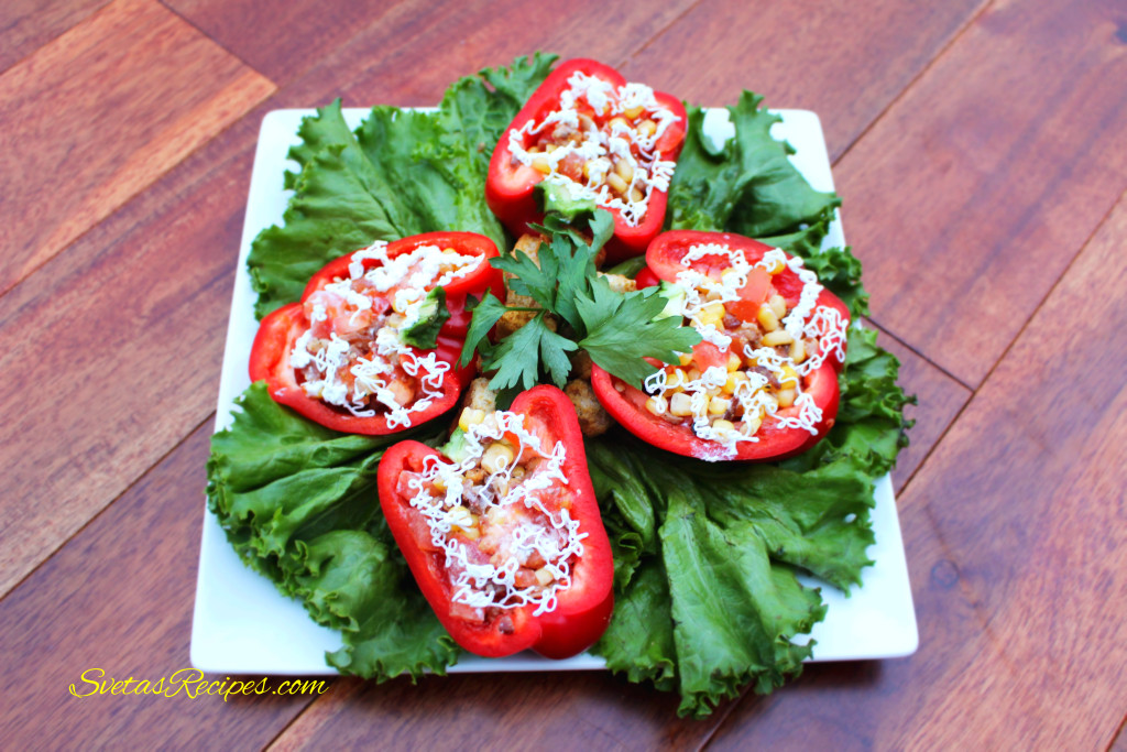 Pepper Salad Dish